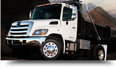 truck, tractor, day cab, dump truck rental